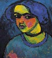 The Black Eyes - Alexei Jawlensky