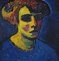 Head of a Woman - Alexei Jawlensky