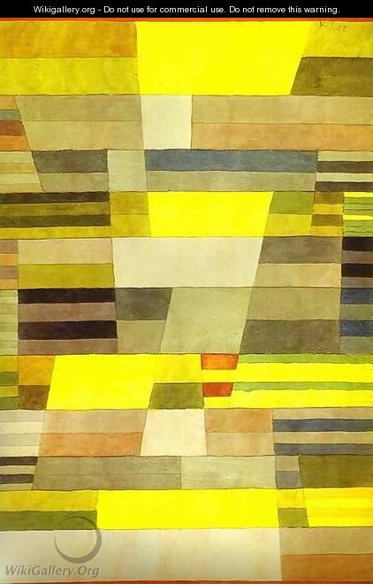 Monument in Fertile Country - Paul Klee
