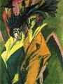 Two Women in the Street - Ernst Ludwig Kirchner
