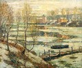 Ice in the River - Ernest Lawson