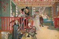Nameday at the Storage House - Carl Larsson