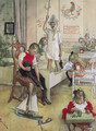Christmas Morning - Carl Larsson