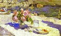 On a Seashore - Konstantin Alexeievitch Korovin