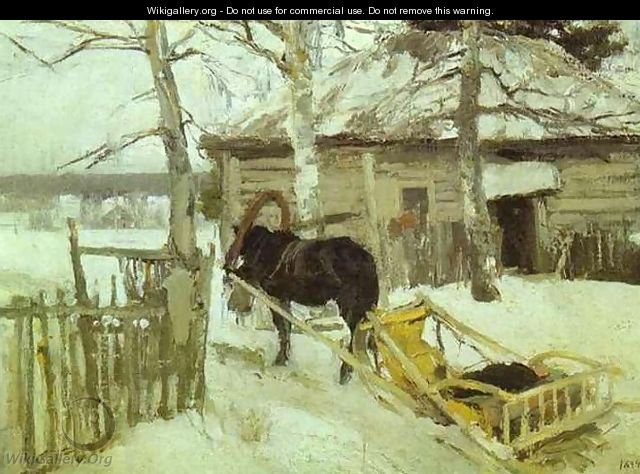 Winter - Konstantin Alexeievitch Korovin