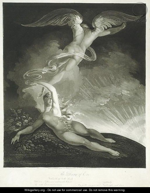 The Dream of Eve - Johann Henry Fuseli