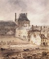 Part of the Tuileries and the Louvre - Thomas Girtin