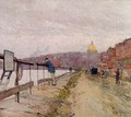 Charles River and Beacon Hill - Childe Hassam