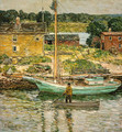 Oyster Sloop - Childe Hassam