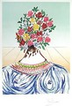 Flowering of Inspiration - Salvador Dali