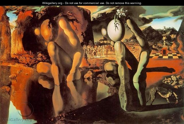 Metamorphosis of Narcissus - Salvador Dali