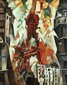 Champs de Mars: The Red Tower - Robert Delaunay