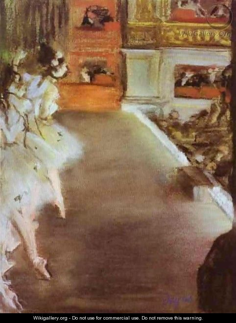 Dancers in the Old Opera House - Edgar Degas