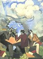 Sketch for The Conquest of the Air - Roger de la Fresnaye