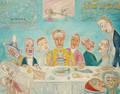 The Banquet of the Starved - James Ensor