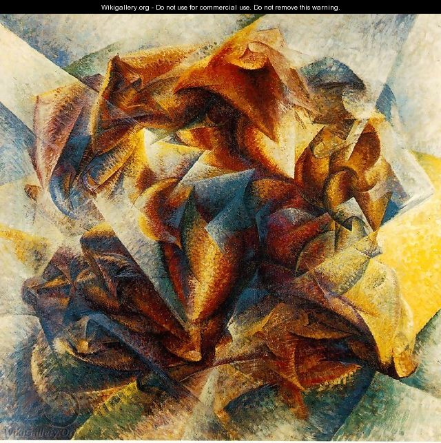 Dynamism of a Soccer Player - Umberto Boccioni