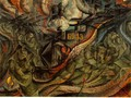 States of Mind II: The Farewells - Umberto Boccioni
