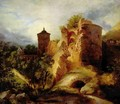 The Ruined Tower of Heidelberg Castle - Karl Blechen