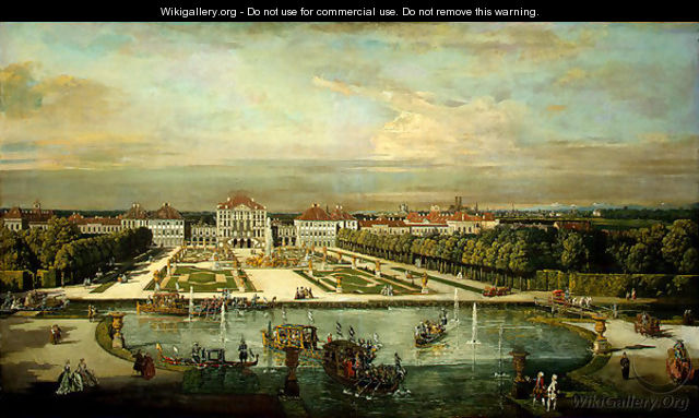 Nymphenburg Palace, Munich - Bernardo Bellotto (Canaletto)