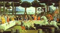 The Banquet in the Pine Forest - Sandro Botticelli (Alessandro Filipepi)