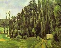 Poplar Trees - Paul Cezanne