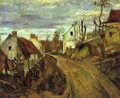 Village Road at Auvers - Paul Cezanne