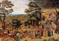 The Way of the Cross - Pieter The Younger Brueghel