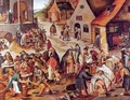 The Seven Acts of Charity - Pieter The Younger Brueghel