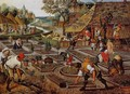Preparation of the Flower Beds - Pieter The Younger Brueghel