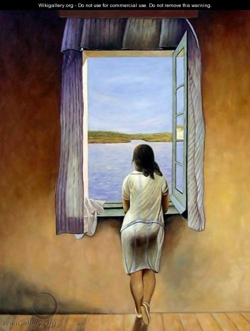 Person at the Window - Salvador Dali