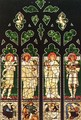 The Vyner memorial window - Sir Edward Coley Burne-Jones