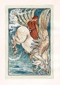 Bellerophon on Pegasus - Walter Crane