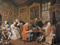 The Contract - William Hogarth