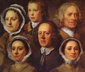 The Artist's Servants - William Hogarth