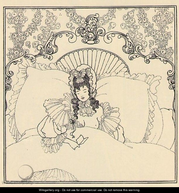 The Billet-Doux - Aubrey Vincent Beardsley