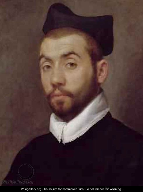 Portrait of a Man presumed to be Clement Marot - Giovanni Battista Moroni