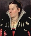 Portrait of a Lady - Giovanni Battista Moroni