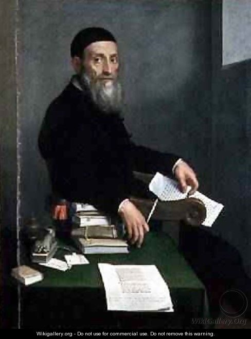 Portrait of Giovanni Bressani - Giovanni Battista Moroni