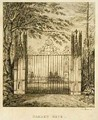Garden Gate at Strawberry Hill - J. Morris
