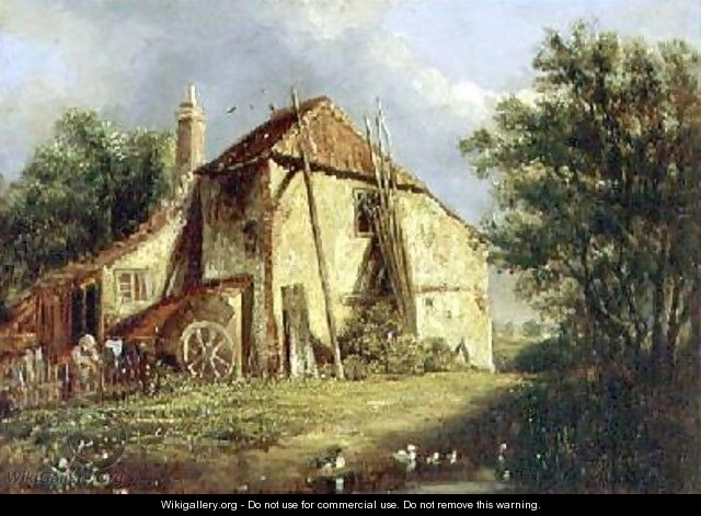 The Old Farm - George Morland