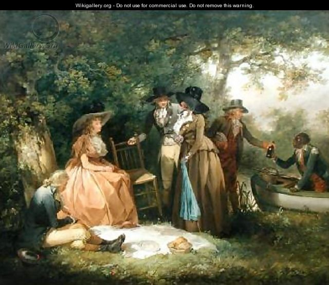 The Anglers Repast - George Morland