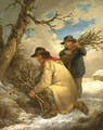 Faggot Gatherers in the Snow - George Morland