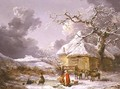 A Fall on the Ice - George Morland