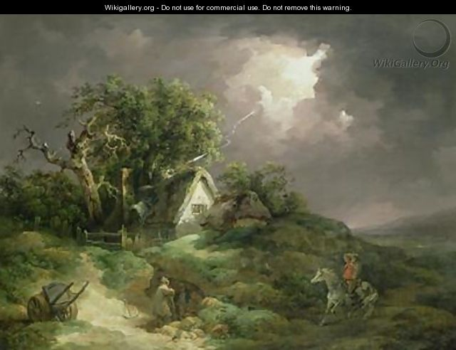 The Coming Storm Isle of Wight 1789 - George Morland