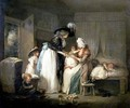 The Visit to the Child at Nurse 1788 - George Morland