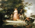 A Party Angling - George Morland