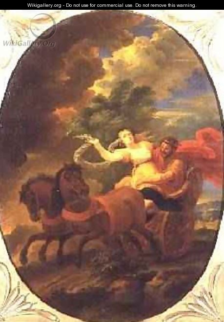 The Rape of Proserpine - Pieter the Younger Mulier (Tampesta, Pietro)