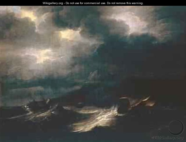 Sea Squall - Pieter the Younger Mulier (Tampesta, Pietro)