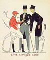 Une Grosse Cote illustration from Monsieur magazine June 1920 - Pierre Mourgue