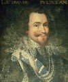 Portrait of George Villiers 1st Duke of Buckingham 1592-1628 - Jean Mosnier